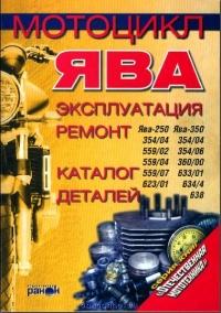Руководство + каталог Мотоцикл Ява